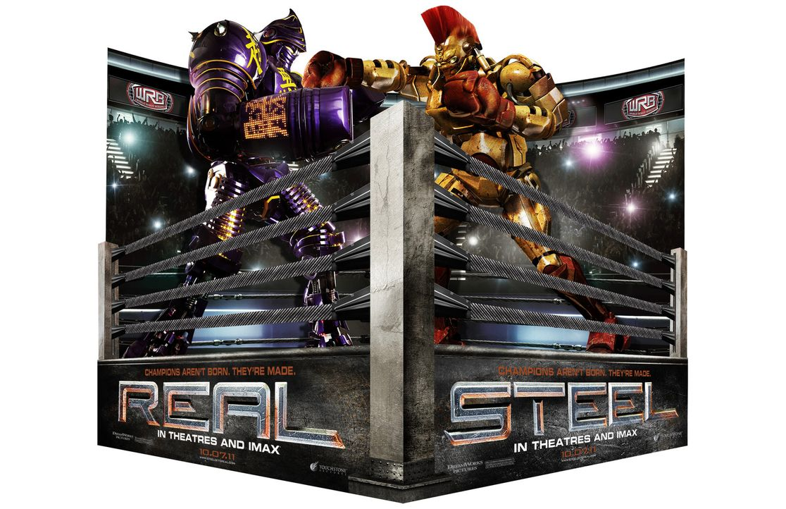 REAL STEEL - STAHLHARTE GEGNER - Artwork - Bildquelle: Greg Williams, Melissa Moseley DREAMWORKS STUDIOS.  All rights reserved