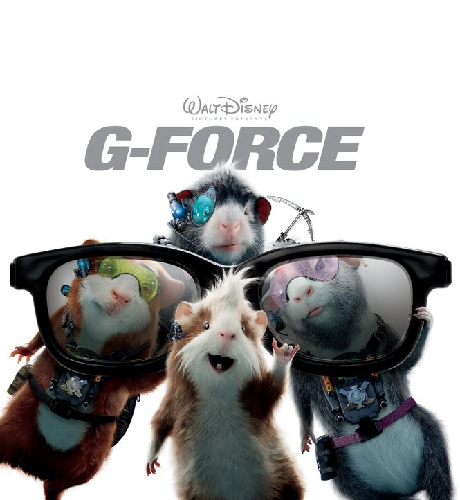 G-Force - Agenten mit Biss: Hurley (M.), Juarez (r.), Darwin (l.) und Blaster (hinten) ... - Bildquelle: Disney Enterprises, Inc. and Jerry Bruckheimer Inc.  All Rights Reserved