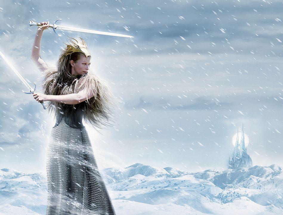 Die weiße Hexe (Tilda Swinton) versetzt die Bewohner von Narnia in Angst und Schrecken ... - Bildquelle: Disney Enterprises. All rights reserved