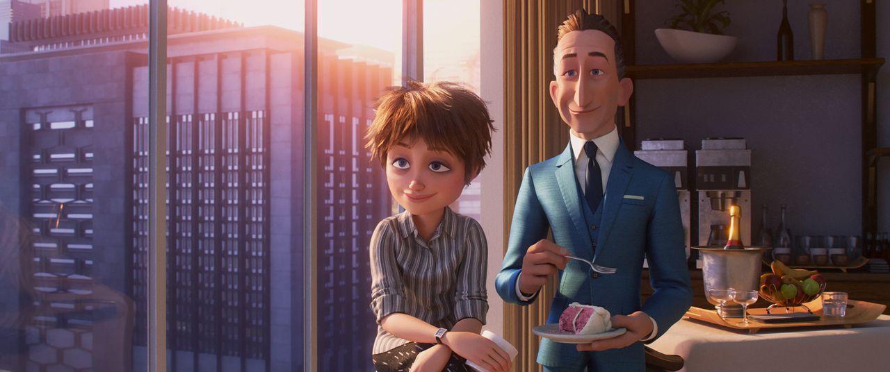 Evelyn Deavor (l.); Winston Deavor (r.) - Bildquelle: 2018 Disney/Pixar. All Rights Reserved.