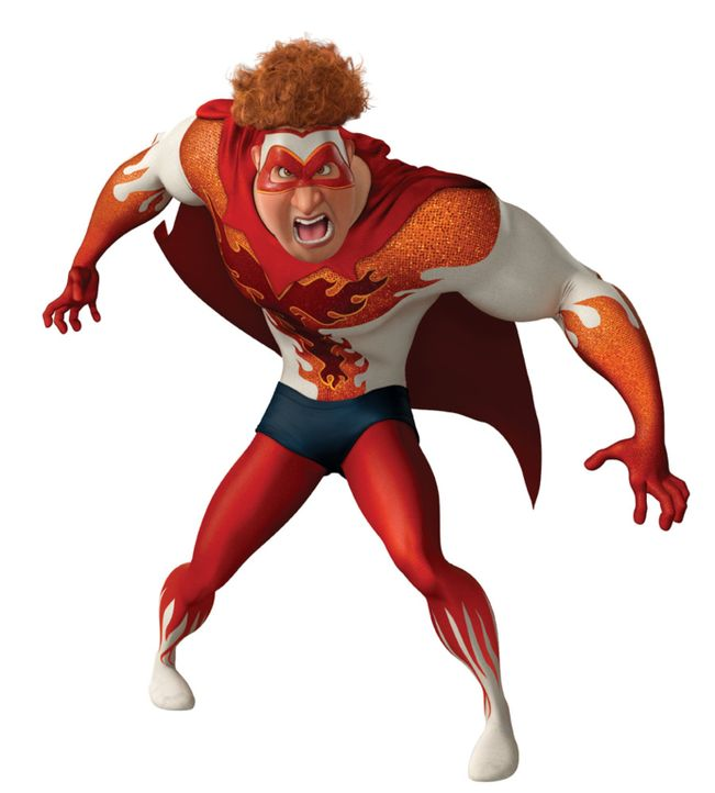 Wenn der alte Feind weg ist, dann muss Megamind eben einen neuen Gegenspieler erschaffen: Den etwas zu böse geratenen Titan ... - Bildquelle: MEGAMIND TM &   2012 DreamWorks Animation LLC. All Rights Reserved.