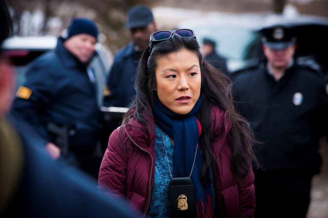 Auch Beverly Katz (Hettienne Park, M.) kann nicht glauben, dass Will wirklich ein brutaler Serienmörder sein soll. Kann sie helfen, seine Unschuld... - Bildquelle: Brooke Palmer 2013 NBCUniversal Media, LLC