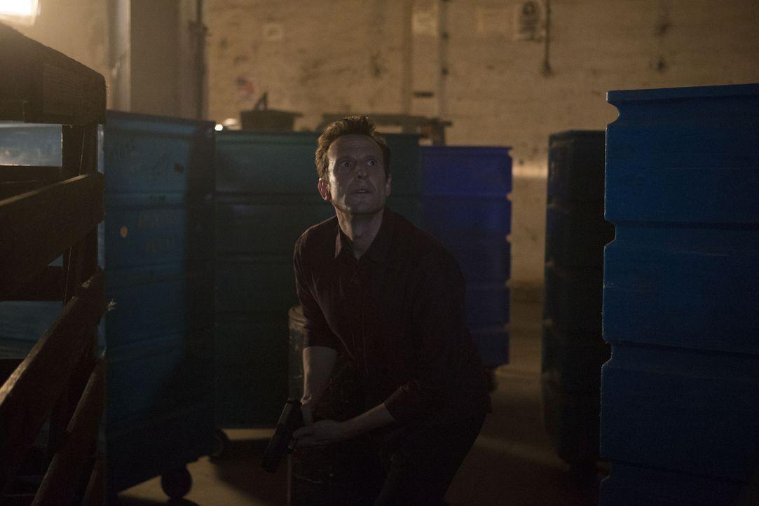 Um an die Koordinaten von Hotchs Aufenthaltsort zu gelangen, entführt und foltert Dr. Scratch (Bodhi Elfman) Special Agent Emily Prentiss. Als sie f... - Bildquelle: Sonja Flemming ABC Studios
