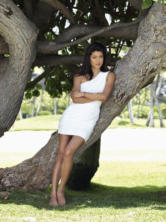 (2. Staffel) - Nimmt den Kampf, gegen das organisierte Verbrechen auf Hawaii: Detective Kono Kalakaua (Grace Park) ... - Bildquelle: TM &   CBS Studios Inc. All Rights Reserved.