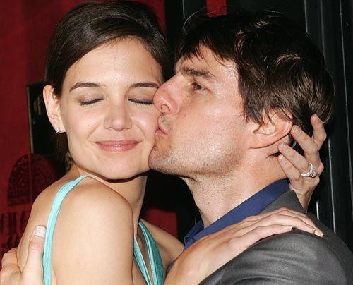Bildergalerie Tom Cruise und Katie Holmes | Frühstücksfernsehen | Sat.1 Ratgeber & Magazine - Bildquelle: AFP