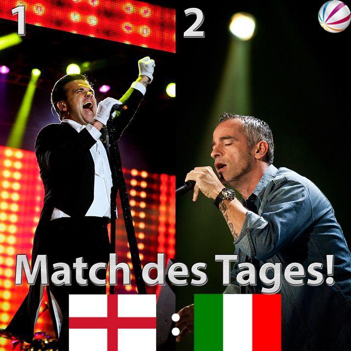 England vs. Italien