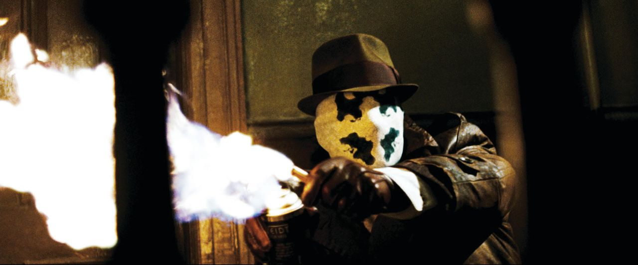 Als sein Superheld-Kollege The Comedian ermordet wird, glaubt Watchmen Rorschach (Jackie Earle Haley) an eine Verschwörung. Schon bald kommt er eine... - Bildquelle: Paramount Pictures