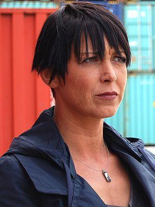 Nicole Wilms als Ermittlerin Katrin Becker - Bildquelle: Sat1