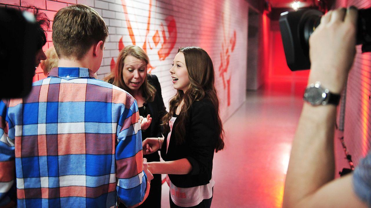 The-Voice-Kids-epi03-danach-Malin-4-SAT1-Andre-Kowalski - Bildquelle: SAT.1/Andre Kowalski