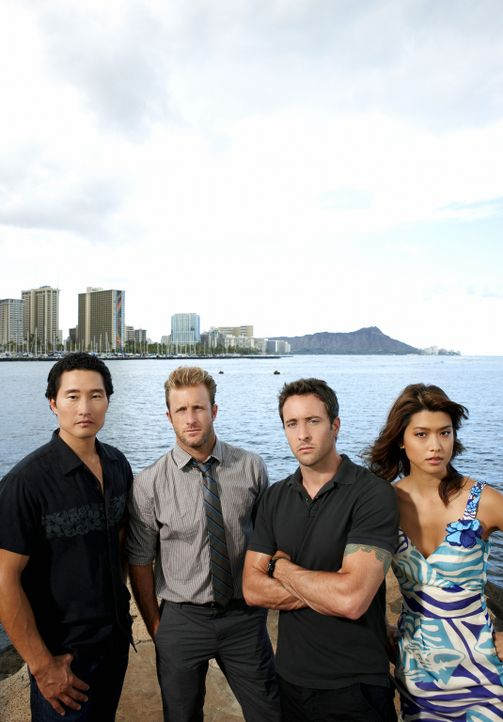 (1. Staffel) - Hawaii Five-0 - Eine Spezialeinheit der Polizei, die das organisierte Verbrechen auf Hawaii bekämpft: Steve McGarrett (Alex O'Loughli... - Bildquelle: TM &   2010 CBS Studios Inc. All Rights Reserved.