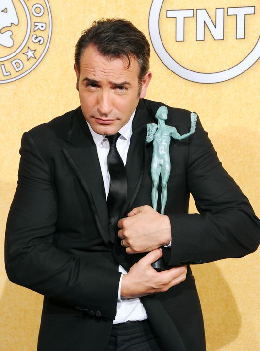Schauspieler Jean Dujardin bei den Screen Actors Guild Awards (SAG)  - Bildquelle: getty-AFP