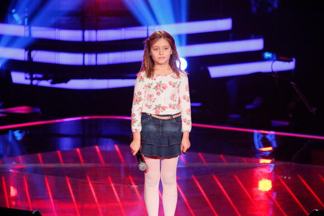 The-Voice-Kids-s03e01-danach-MariaK-01 - Bildquelle: SAT.1/ Richard Hübner