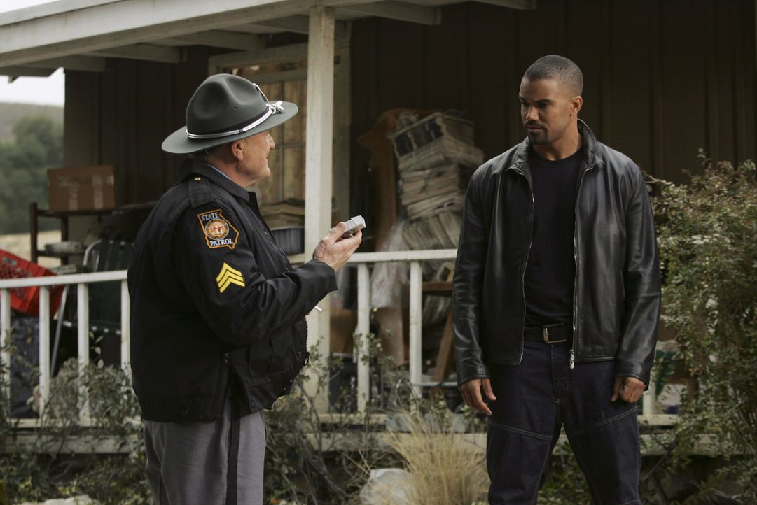 Derek Morgan (Shemar Moore, r.) - Bildquelle: Monty Brinton 2007 Touchstone Television. All rights reserved. NO ARCHIVE. NO RESALE./ Monty Brinton