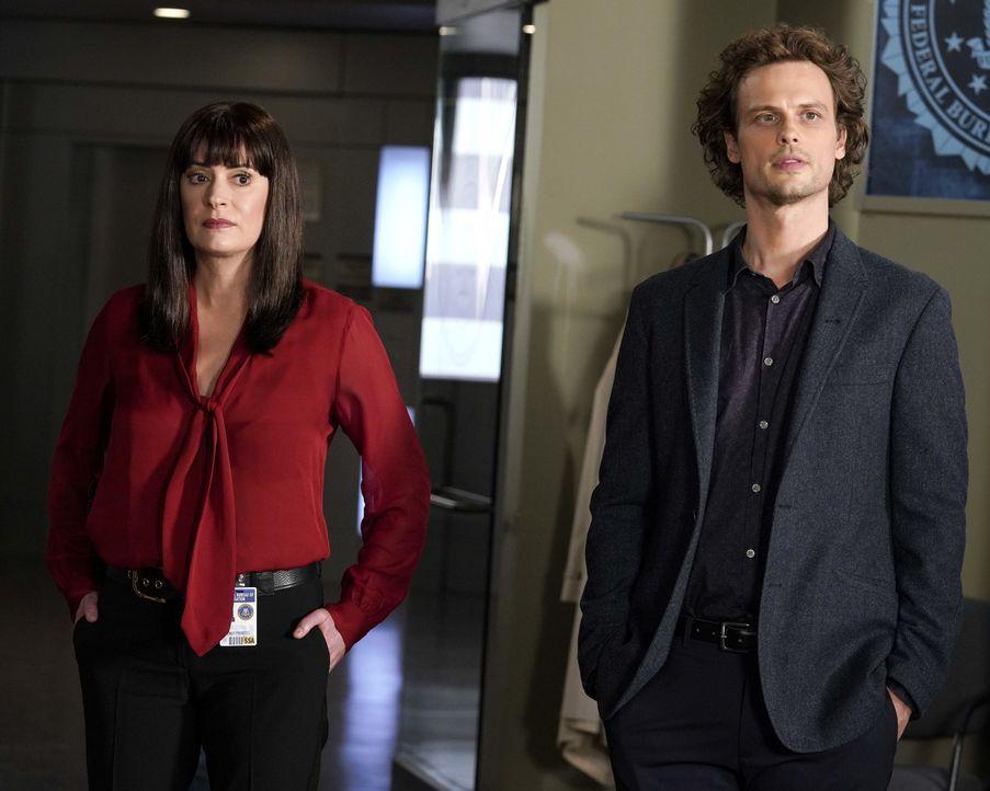 Emily Prentiss (Paget Brewster, l.); Dr. Spencer Reid (Matthew Gray Gubler, r.) - Bildquelle: Cliff Lipson ABC Studios / Cliff Lipson
