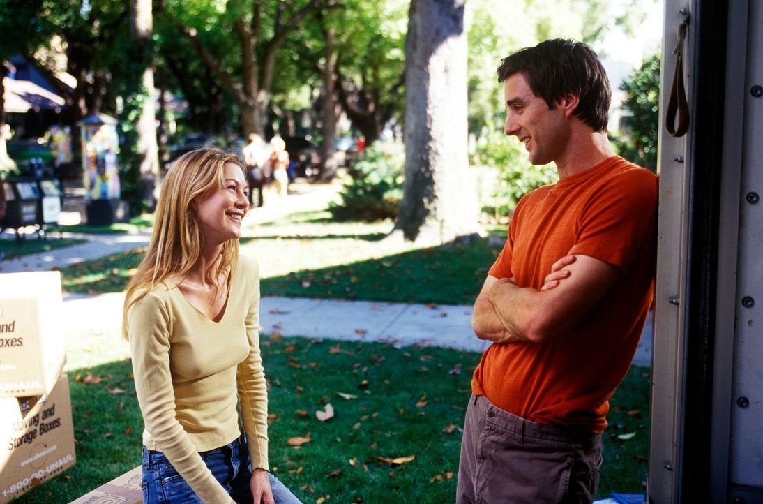 Schon bald hat sich Mitch (Luke Wilson, r.) bis über beide Ohren in die liebenswerte Nicole (Ellen Pompeo, l.) verliebt ... - Bildquelle: DreamWorks SKG
