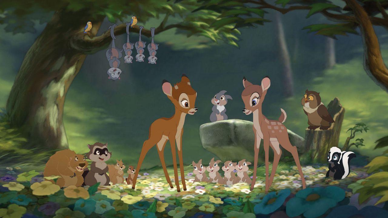 Neue Abenteuer warten auf Bambi und seine Freunde ... - Bildquelle: Disney  All rights reserved