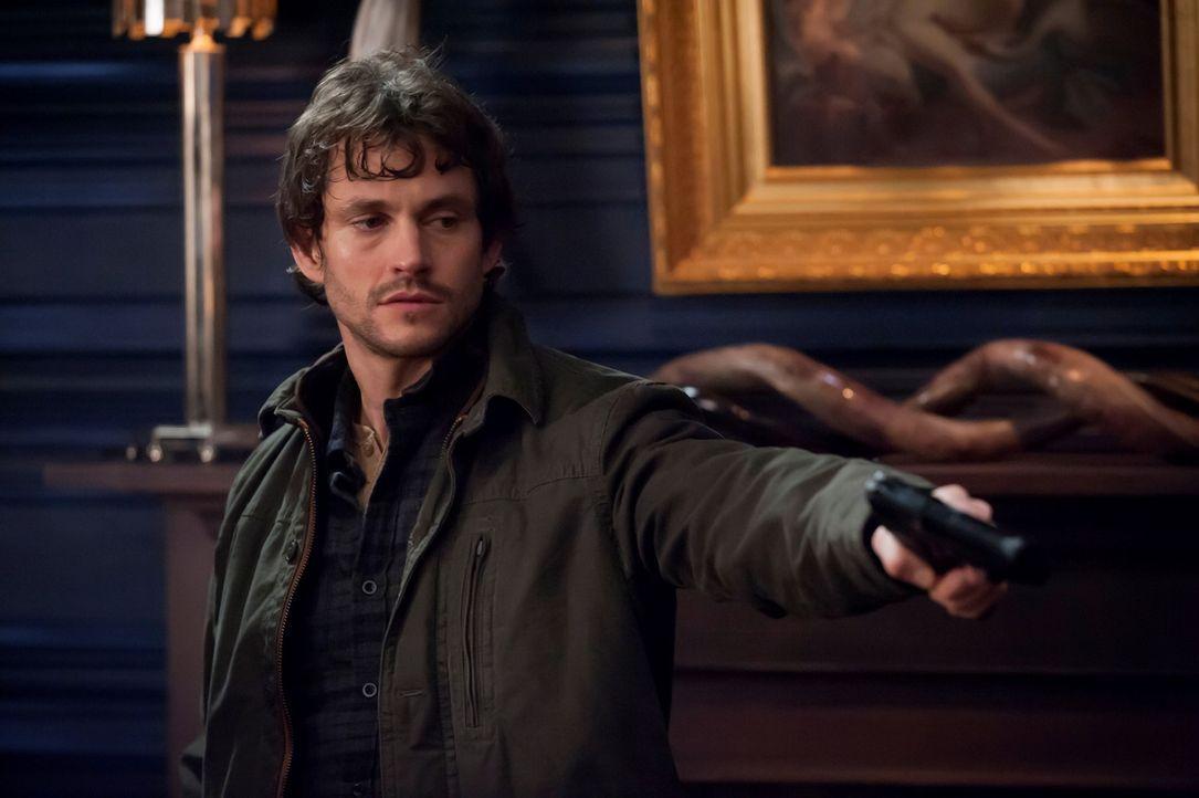 Die Halluzinationen treiben Will Graham (Hugh Dancy) zunehmend in den Wahnsinn ... - Bildquelle: Brooke Palmer 2013 NBCUniversal Media, LLC