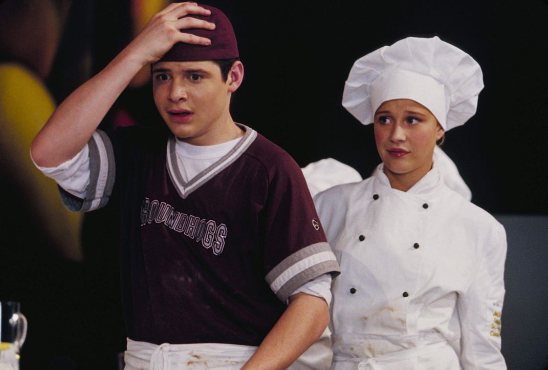 Früh übt sich, wer ein Meister werden will: Eddie (Taylor Ball, l.) und Hannah (Rose McIver, r.) ... - Bildquelle: The Disney Channel