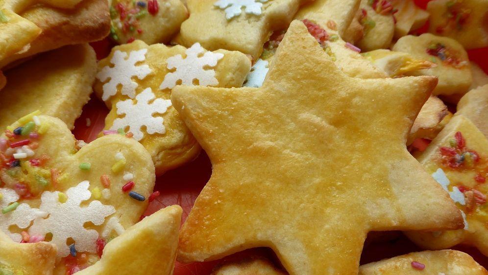 Omas Weihnachtsplätzchen.Butterplätzchen Rezept Zum Ausstechen Sat 1 Ratgeber