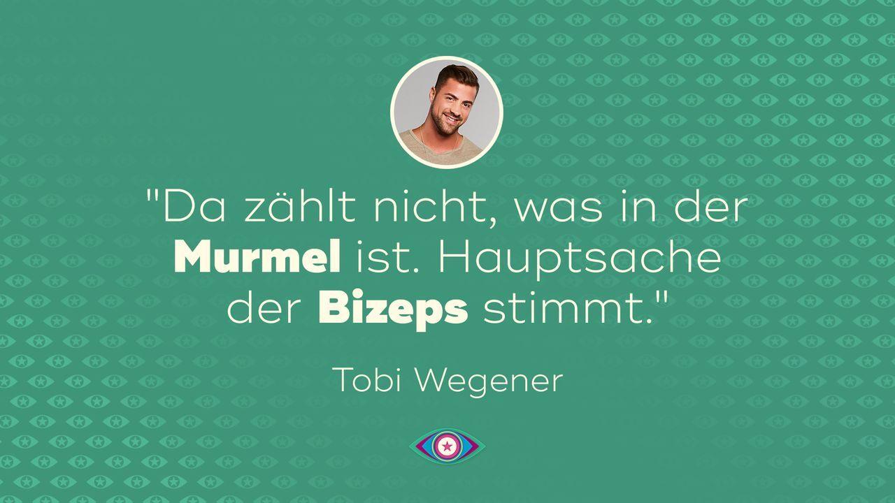Einzug: Tobi Wegener - Bildquelle: SAT.1