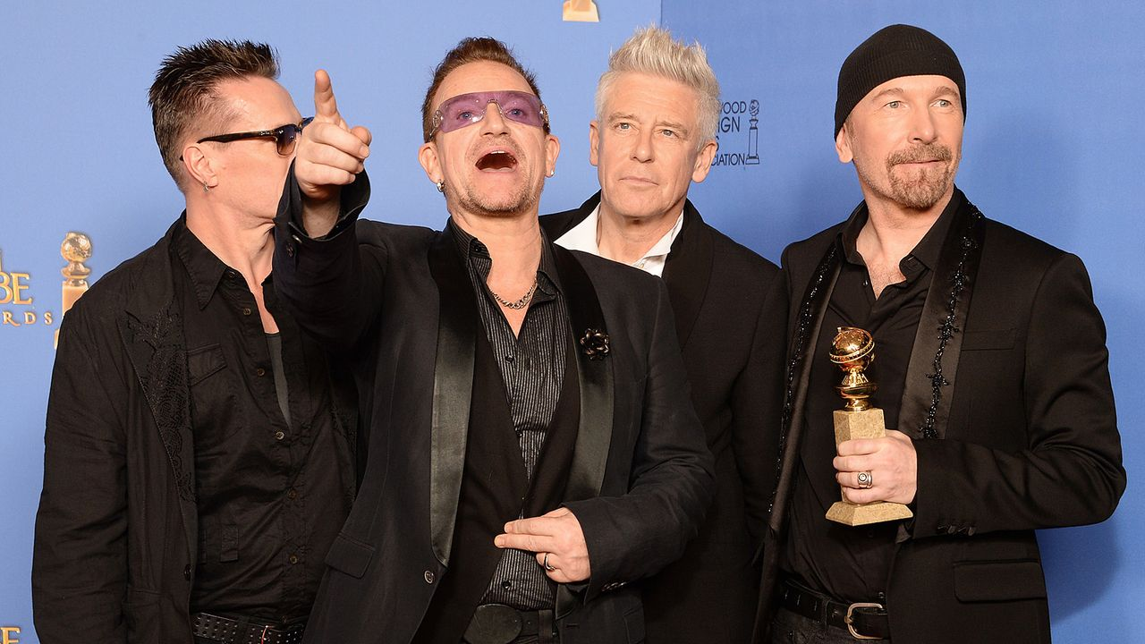 Golden-Globe-U2-14-01-12-AFP - Bildquelle: AFP