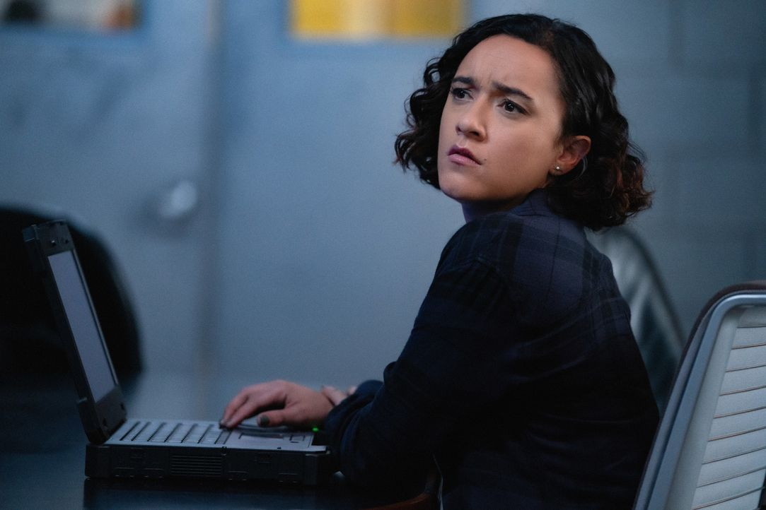 Hana Gibson (Keisha Castle-Hughes) - Bildquelle: Mark Schafer 2019 CBS Broadcasting, Inc. All Rights Reserved. / Mark Schafer