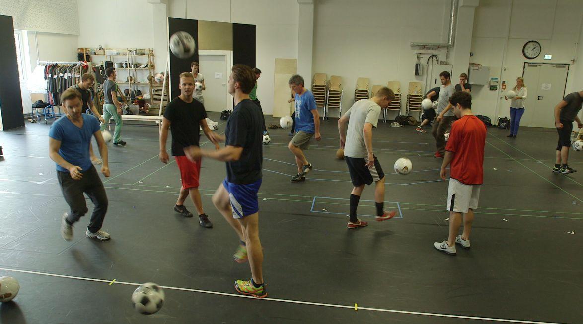 05_September_offizieler Probenbeginn- Fussballtraining