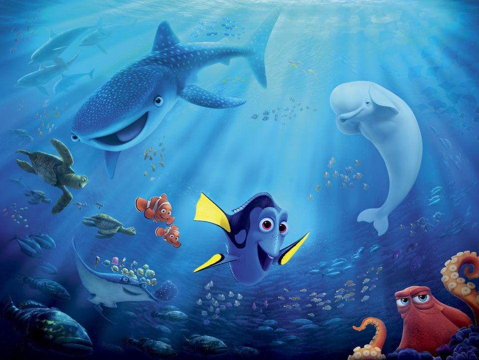 Findet Dorie - Artwork - Bildquelle: Disney/Pixar