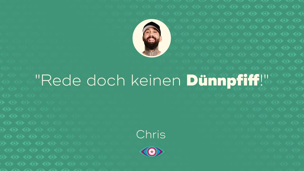 Tag 4: Chris Dünnpfiff