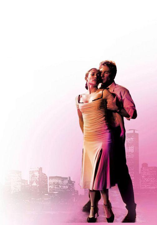 Durchs Tanzen und durch die hübsche Tanzlehrerin (Jennifer Lopez, l.) bekommt Anwalt John Clark (Richard Gere, r.) seine Lebensfreunde wieder zurü... - Bildquelle: Buena Vista International Television