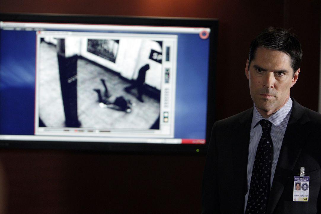 Die Ermittlungen laufen auf Hochtouren: Special Agent Aaron Hotchner (Thomas Gibson) ... - Bildquelle: Touchstone Television