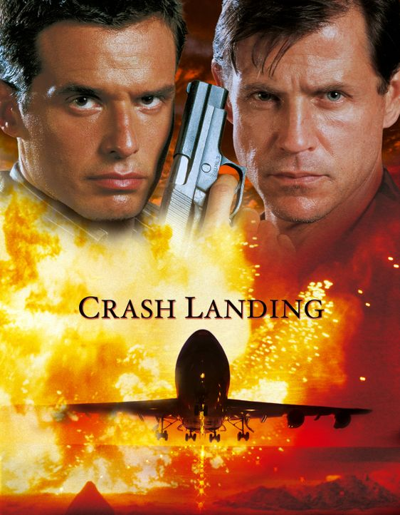 Terroristen machen sich im Flugzeug des ehemaligen Air-Force-Piloten John Masters (Antonio Sabato, l.) breit. Zusammen mit Captain Williams (Michael... - Bildquelle: Cinetel Films