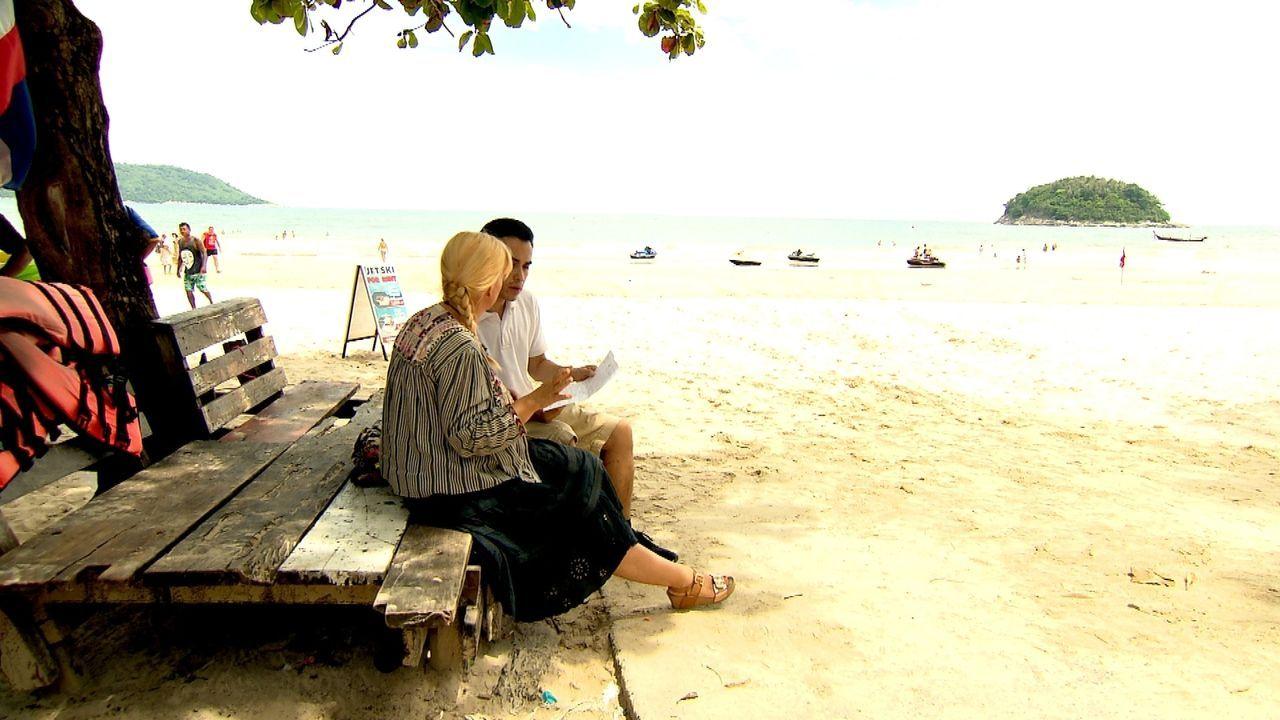 Ob auf Straßen, Hochhäusern oder am Strand: Julia Leischik lässt auf ihrer Suche nichts unversucht. - Bildquelle: SAT.1