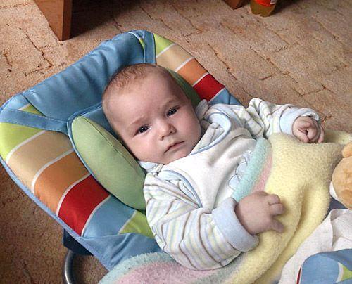 Luca Jerome, Söhnchen von Britt-Fan Jacqueline  - Bildquelle: Sat1