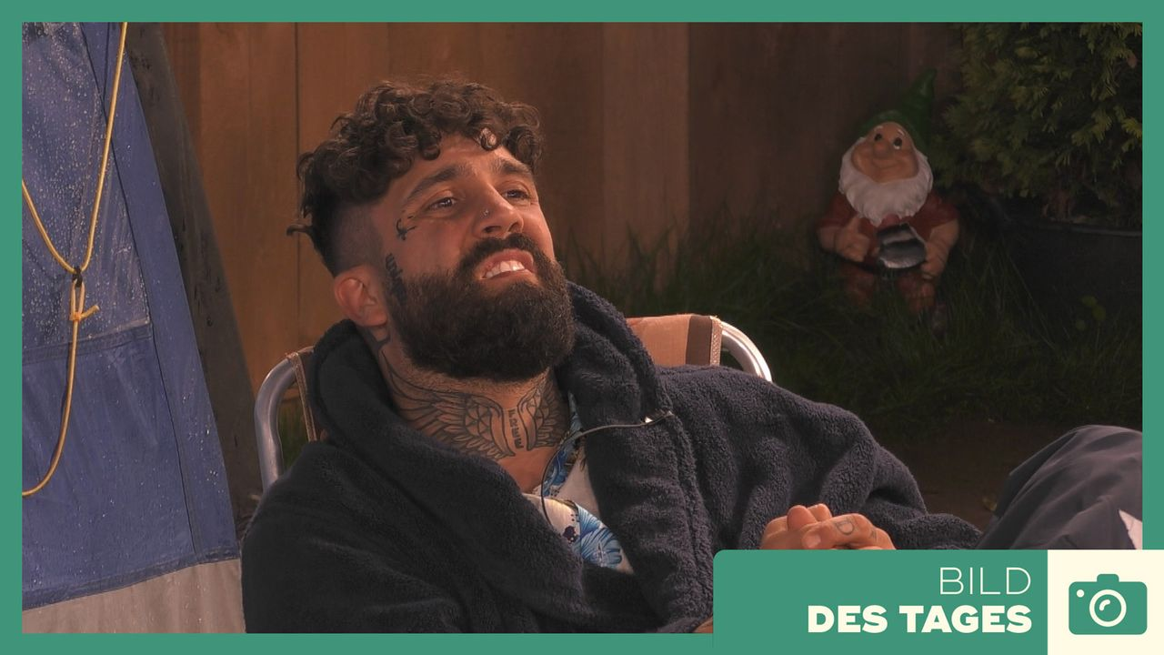 """Promi Big Brother"" 2019: Chris Regelverstoß - Tag 3 - Bildquelle: SAT.1"