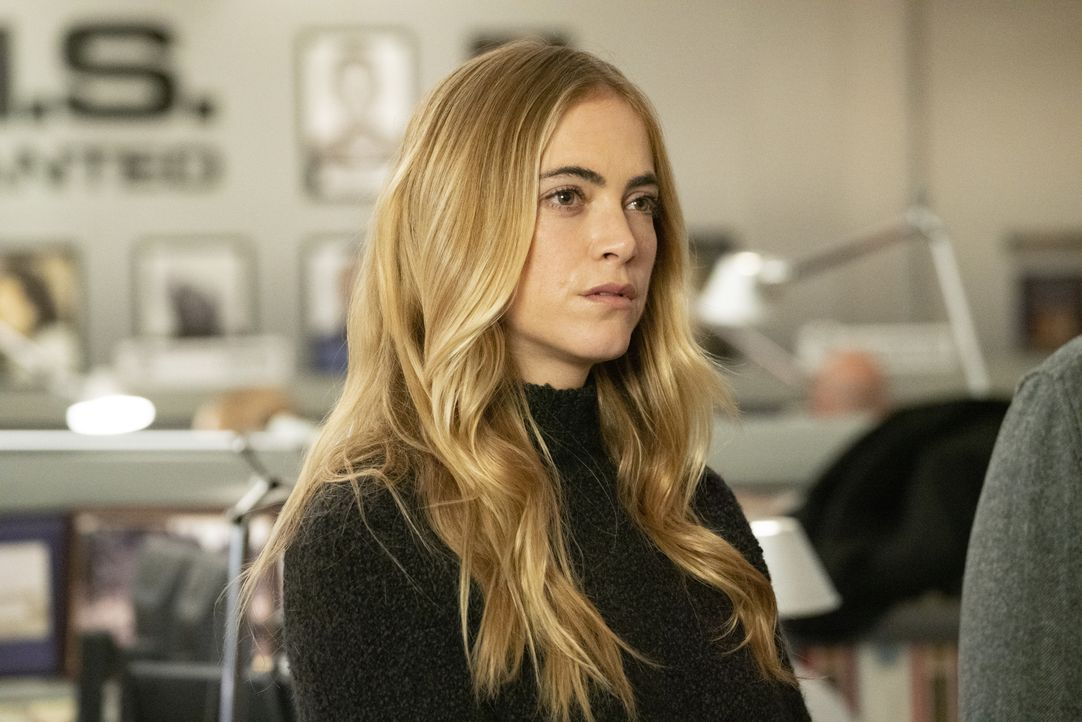 Ellie Bishop (Emily Wickersham) - Bildquelle: Michael Yarish 2019 CBS Broadcasting, Inc. All Rights Reserved. / Michael Yarish