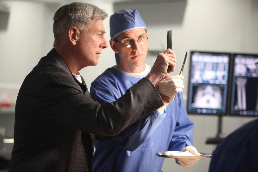 Ermitteln in einem neuen Fall: Gibbs (Mark Harmon, l.) und Jimmy (Brian Dietzen, r.) ... - Bildquelle: CBS Television