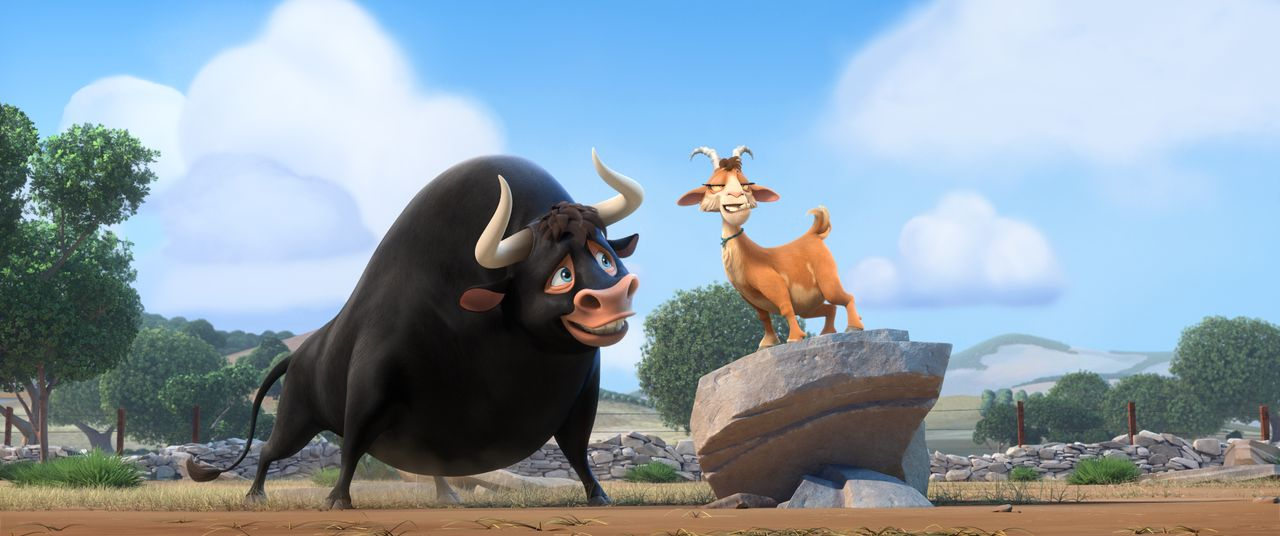 Ferdinand (l.); Lupe (r.) - Bildquelle: 2017 Twentieth Century Fox Film Corporation. All rights reserved.