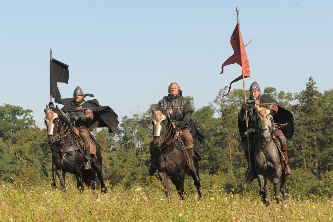 König Sigismunds Truppen ziehen in den Krieg gegen die Hussiten ... - Bildquelle: SAT. 1