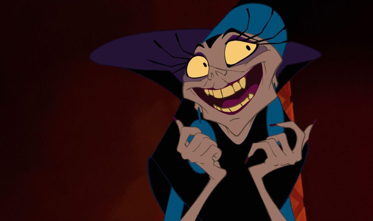 Die königliche Beraterin Yzma ist hon Herrschsucht und Machtgier besessen. Als sie dann von König Kuzco gefeuert wird, schwört sie Rache ... - Bildquelle: Disney Enterprises Inc.