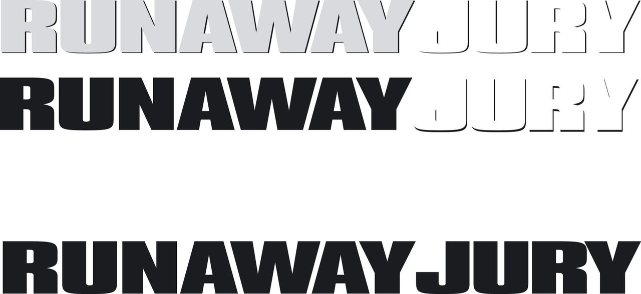 Runaway Jury - Originaltitel - Logo - Bildquelle: 20th Century Fox of Germany