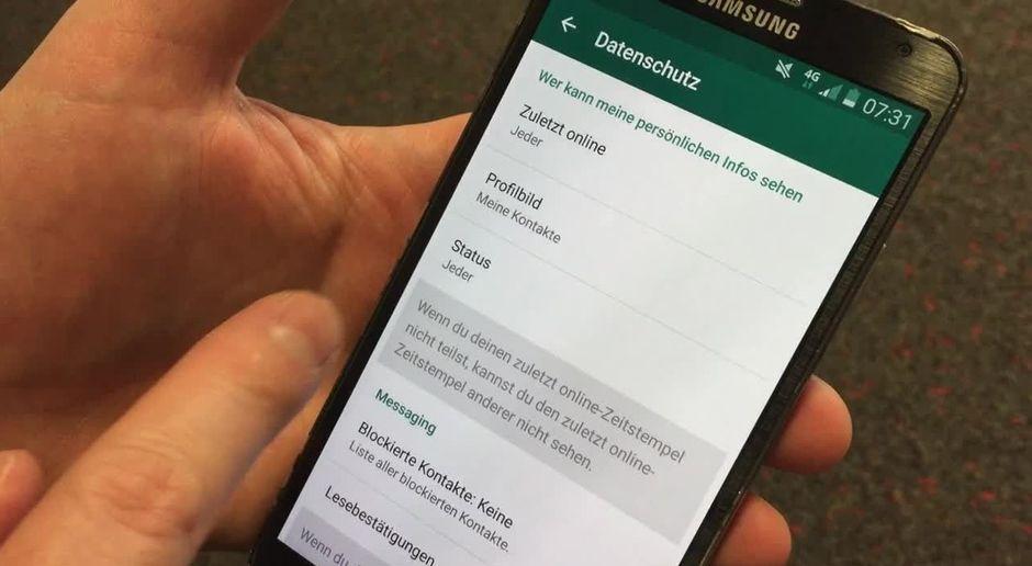 Experten Tipp Lesebestätigung Und Online Status Bei Whatsapp Abschalten