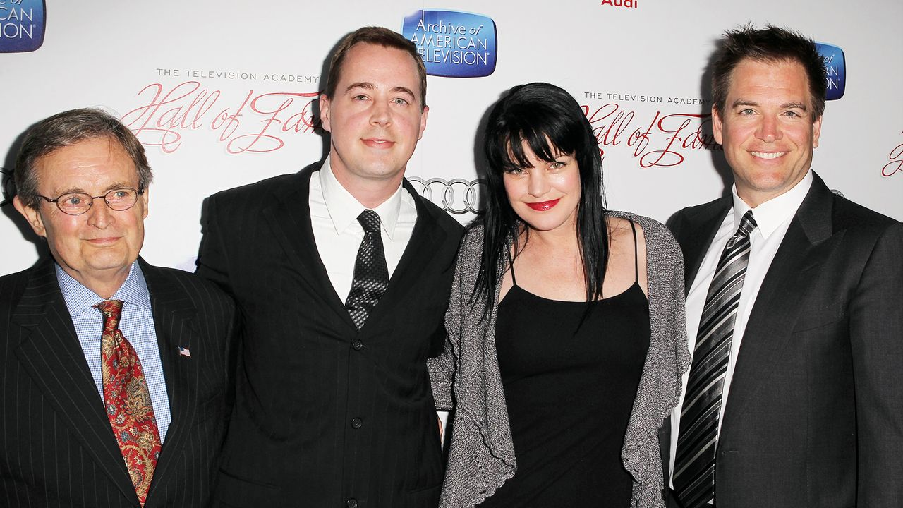 David-McCallum-Sean-Murray-Pauley-Perrette-Michael-Weatherly-130311-FayesVision-WENN-com - Bildquelle: FayesVision/WENN.com