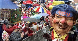 Absoluter Höhepunkt der Mainzer Fastnacht ist in jedem Jahr der Rosenmontagszug.