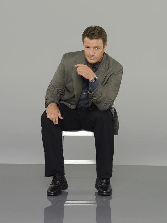 (7. Staffel) - Wenn Richard Castle (Nathan Fillion) sich etwas in den Kopf gesetzt hat, ist es sehr schwer, ihn davon abzubringen ... - Bildquelle: ABC Studios