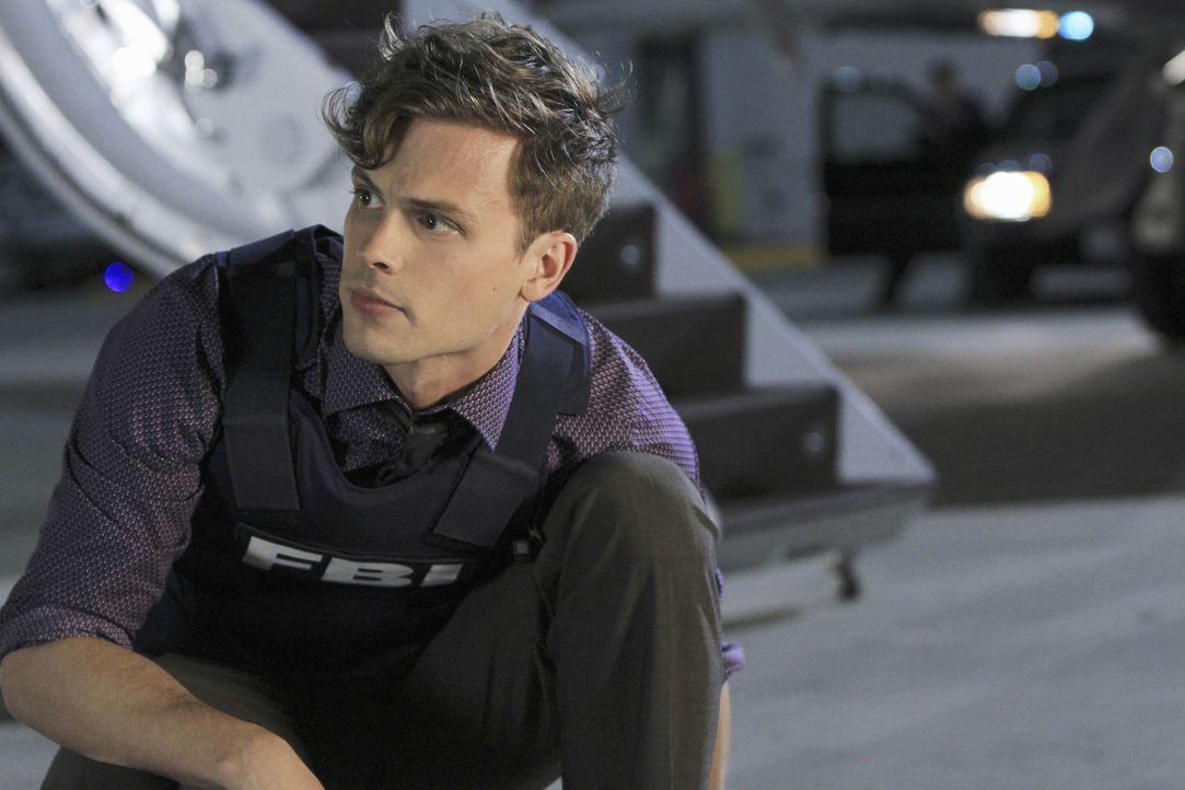 Ist mit seinen Kollegen auf der Suche nach Ian Doyle, der Emilys Tod zu verantworten hat: Reid (Matthew Gray Gubler) ... - Bildquelle: ABC Studios