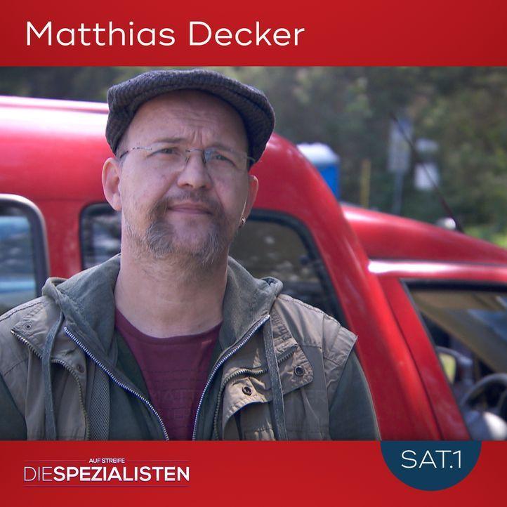 Matthias Decker - Bildquelle: SAT.1