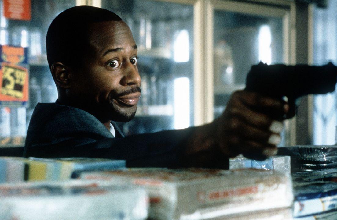 Der einstige Juwelendieb Miles Logan (Martin Lawrence) arbeitet nun für die Polizei ... - Bildquelle: Columbia Pictures