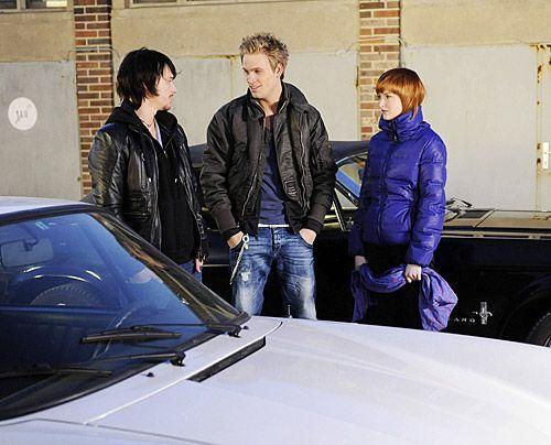 Ben und Sophie haben Bedenken, als Ronnie eine gefährliche Rennstrecke für die Revanche vorschlägt ... - Bildquelle: Christoph Assmann - Sat1