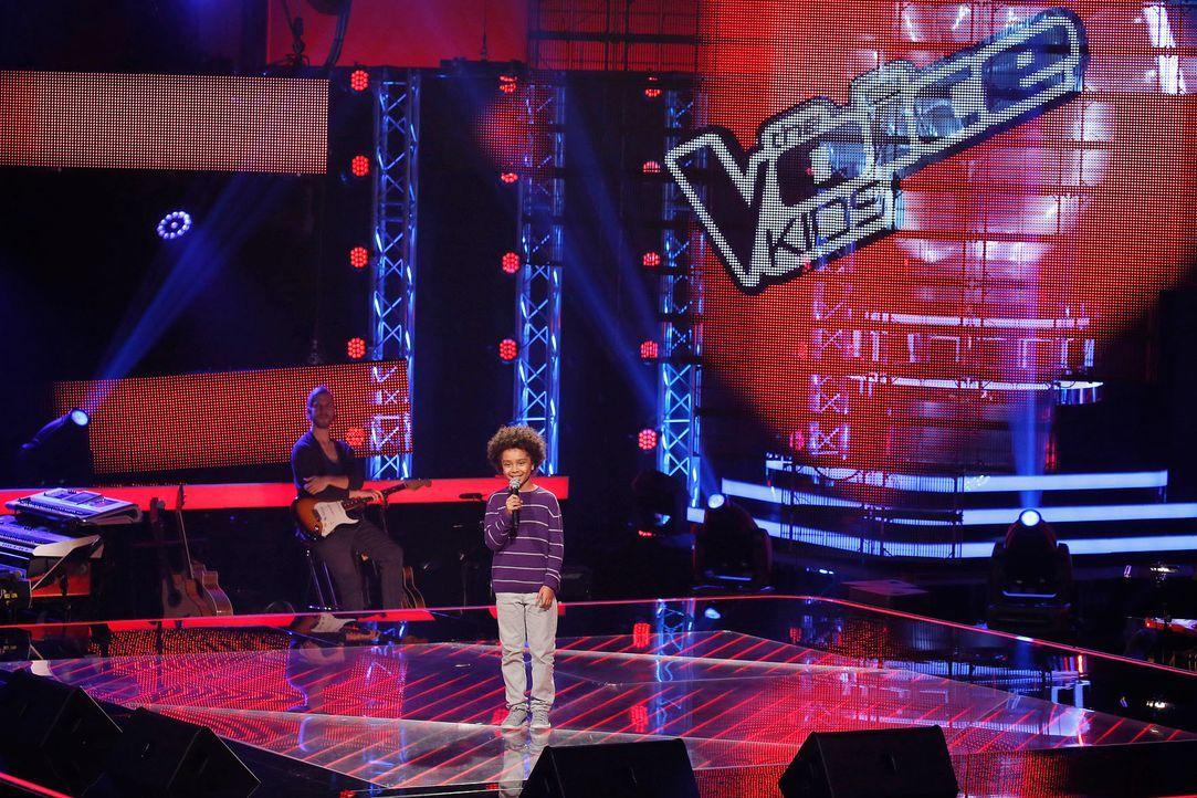 The-Voice-Kids-Stf04-Epi03-Danach-07-Amaro-SAT1-Richard-Huebner - Bildquelle: SAT.1/ Richard Hübner